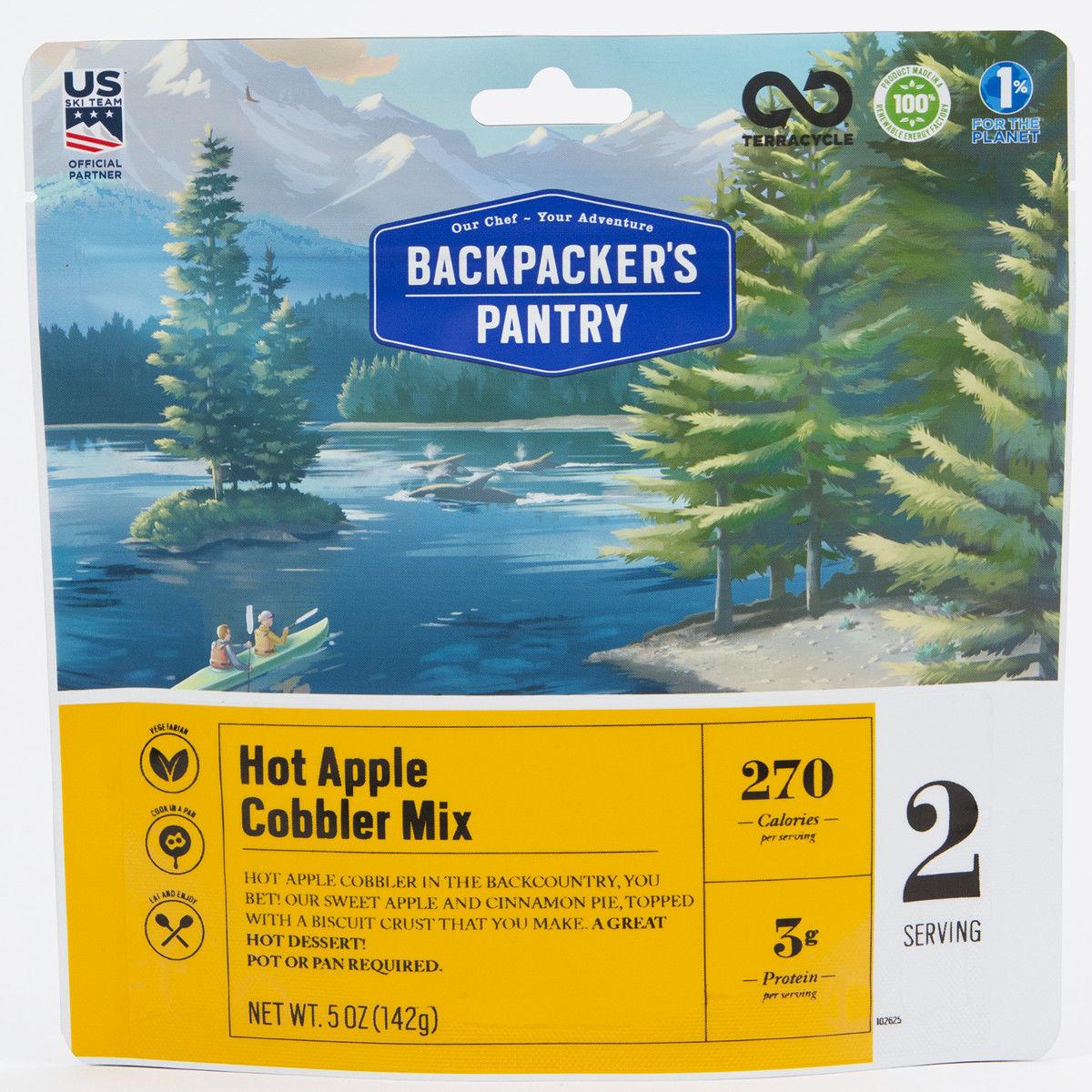 photo: Backpacker's Pantry Hot Apple Cobbler dessert