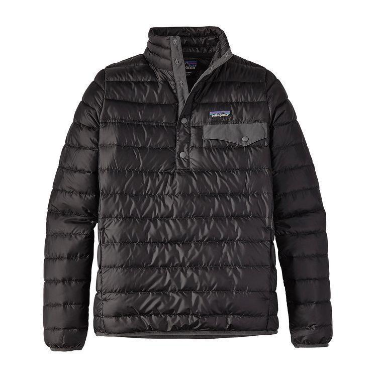 photo: Patagonia Women's Down Snap-T Pullover down insulated jacket