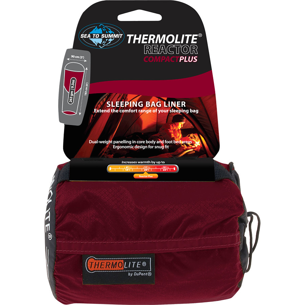 photo: Sea to Summit Reactor Plus Thermolite Liner sleeping bag liner