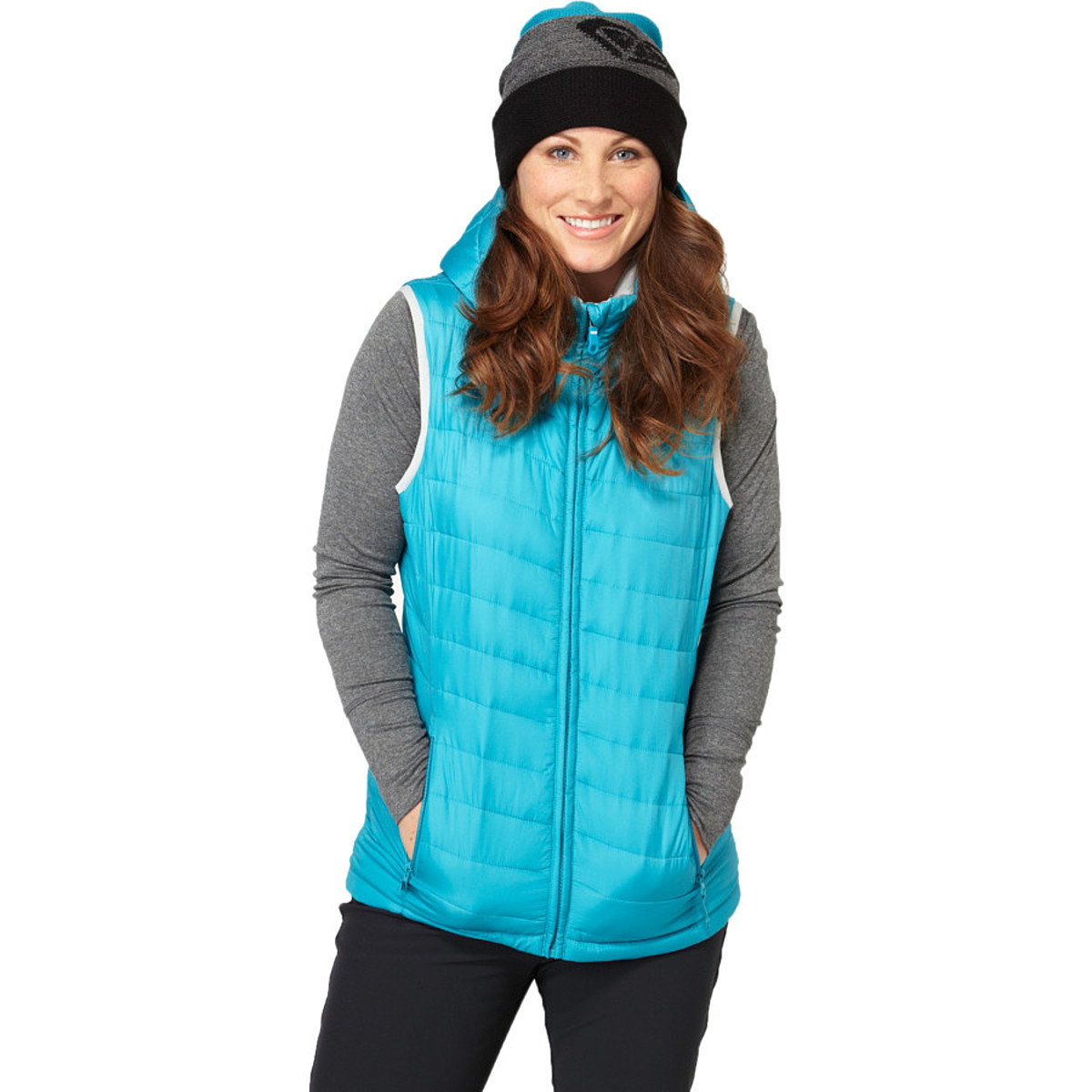 photo: Roxy Warm Up Vest Insulator synthetic insulated vest