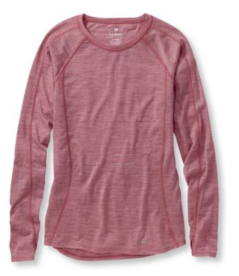L.L.Bean Cresta Wool Ultralight Base Layer Long Sleeve