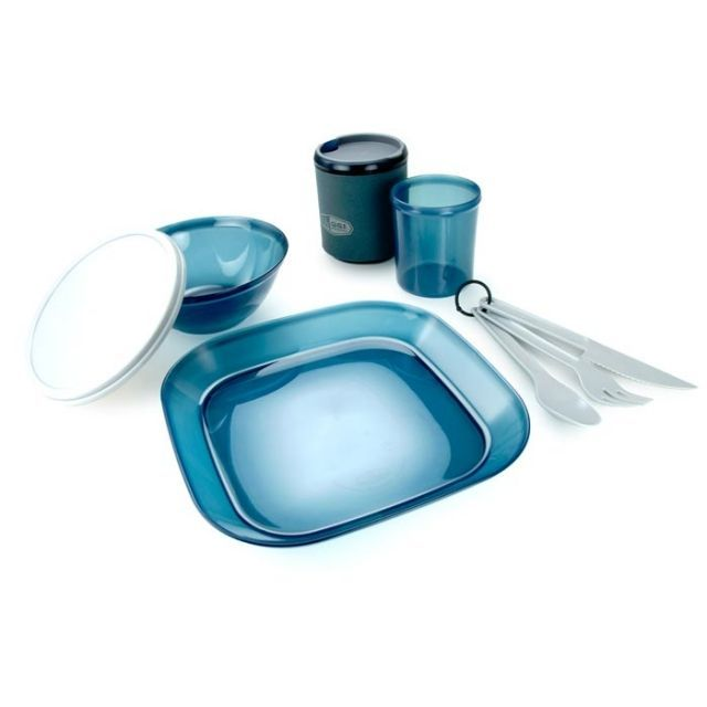 photo: GSI Outdoors Infinity 1 Person Table Set plate/bowl