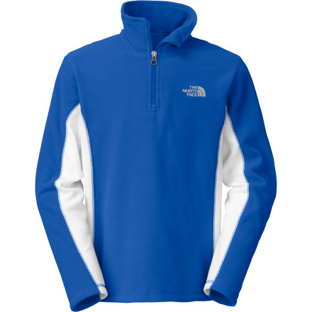 photo: The North Face Glacier Micro 1/4 Zip fleece top