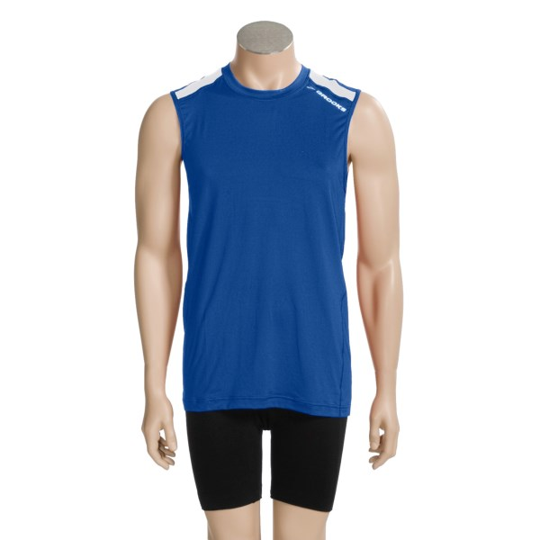 photo: Brooks Equilibrium Sleeveless short sleeve performance top