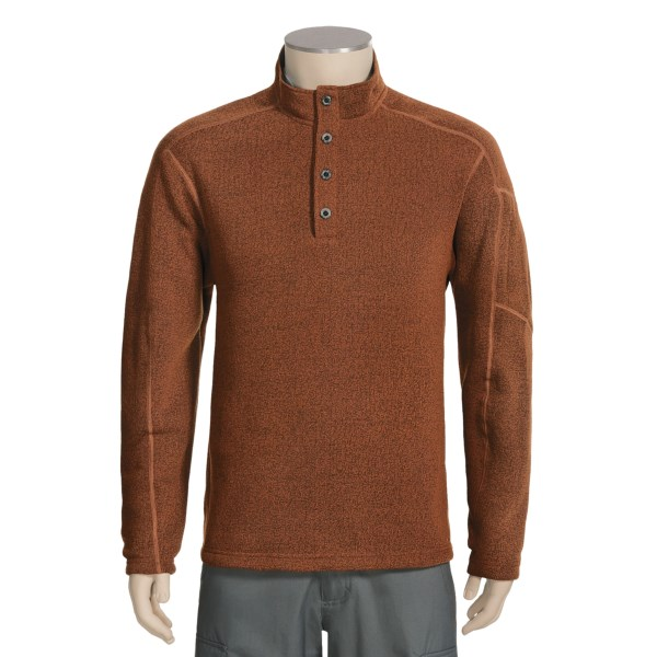 photo: ExOfficio Alpental Long-Sleeve Pullover Fleece fleece top