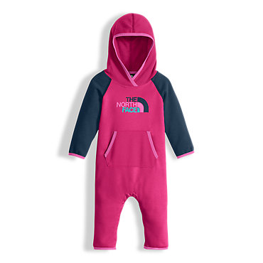 photo: The North Face Logowear One Piece kids' snowsuit/bunting