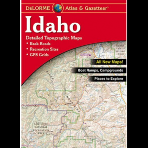 DeLorme Idaho Atlas and Gazetteer