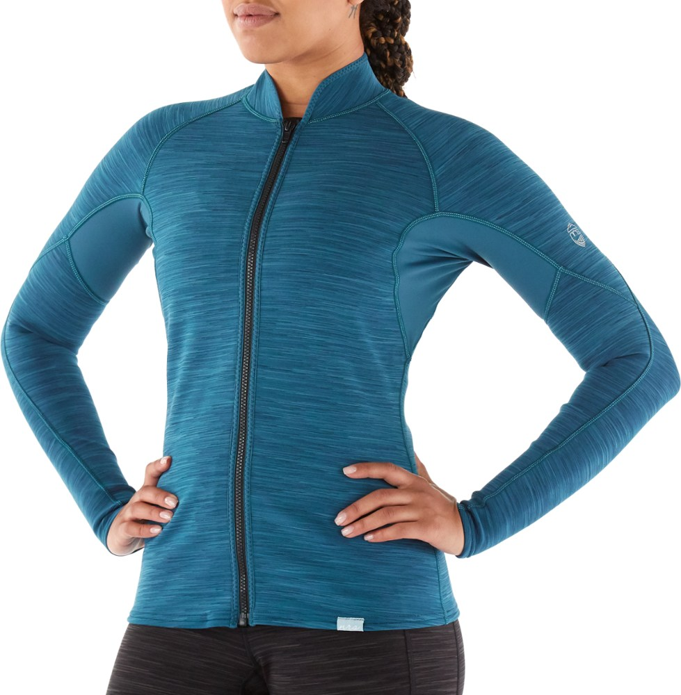 photo: NRS Women's HydroSkin 0.5 Jacket wet suit