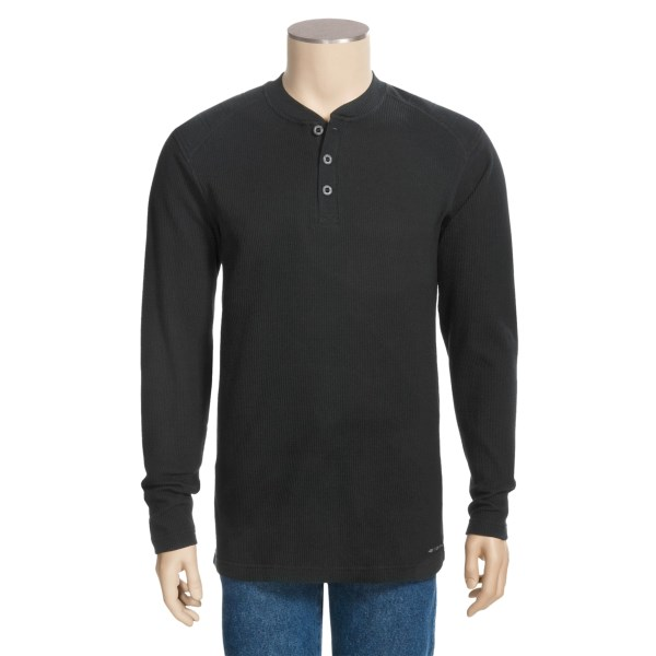 photo: ExOfficio Therma-Wise Long-Sleeve Henley Shirt long sleeve performance top