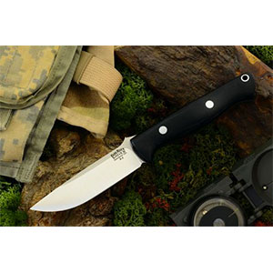photo of a Bark River fixed-blade knife