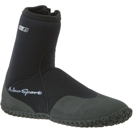 photo: Neosport 5mm High Top Zipper Boot water shoe