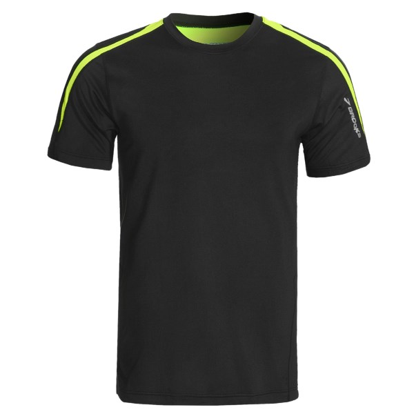 photo: Brooks Nightlife Equilibrium SS short sleeve performance top