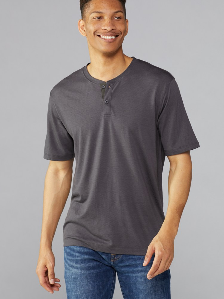 REI New Route Henley T-shirt