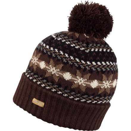 photo: DaKine Maggie Pom Beanie winter hat