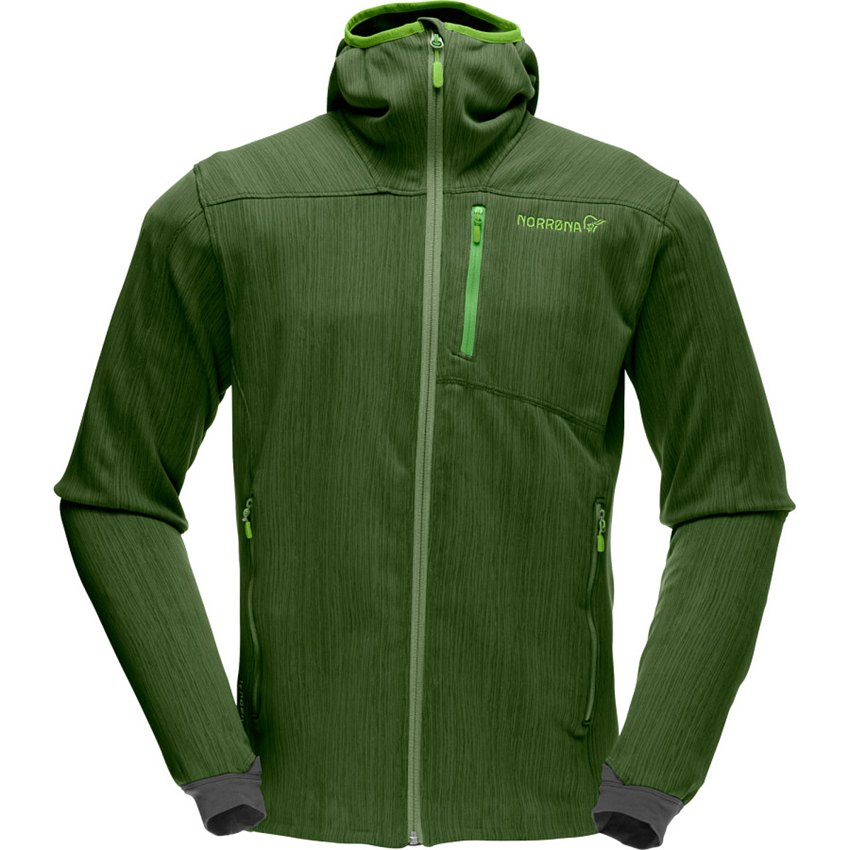 photo: Norrona Men's Lyngen warm2flex Jacket fleece jacket