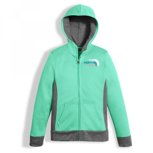 photo: The North Face Girls' Surgent Full Zip Hoodie fleece jacket