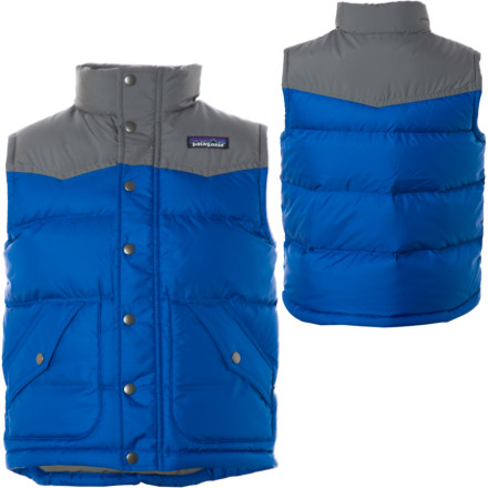 photo: Patagonia Boys' Down Vest down insulated vest
