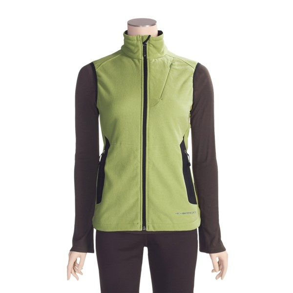 photo: ExOfficio Wind Logic Vest fleece vest