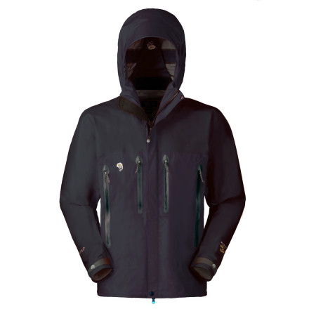 photo: Mountain Hardwear Women's Beryllium Jacket waterproof jacket