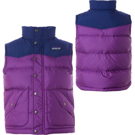 photo: Patagonia Girls' Down Vest down insulated vest