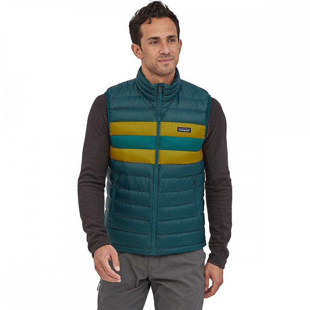 photo: Patagonia Down Sweater Vest down insulated vest
