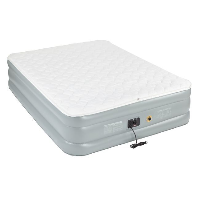 photo: Coleman Double High QuickBed Air Bed Electric Pump Combo air-filled sleeping pad