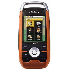 photo: Magellan Triton 2000 handheld gps receiver