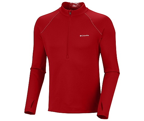 photo: Columbia Extreme Long Sleeve 1/2 Zip base layer top