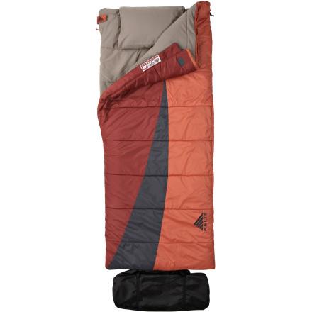 photo: Kelty Eclipse 30 3-season synthetic sleeping bag