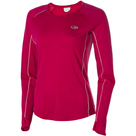 photo: Icebreaker LS Rush Crewe long sleeve performance top