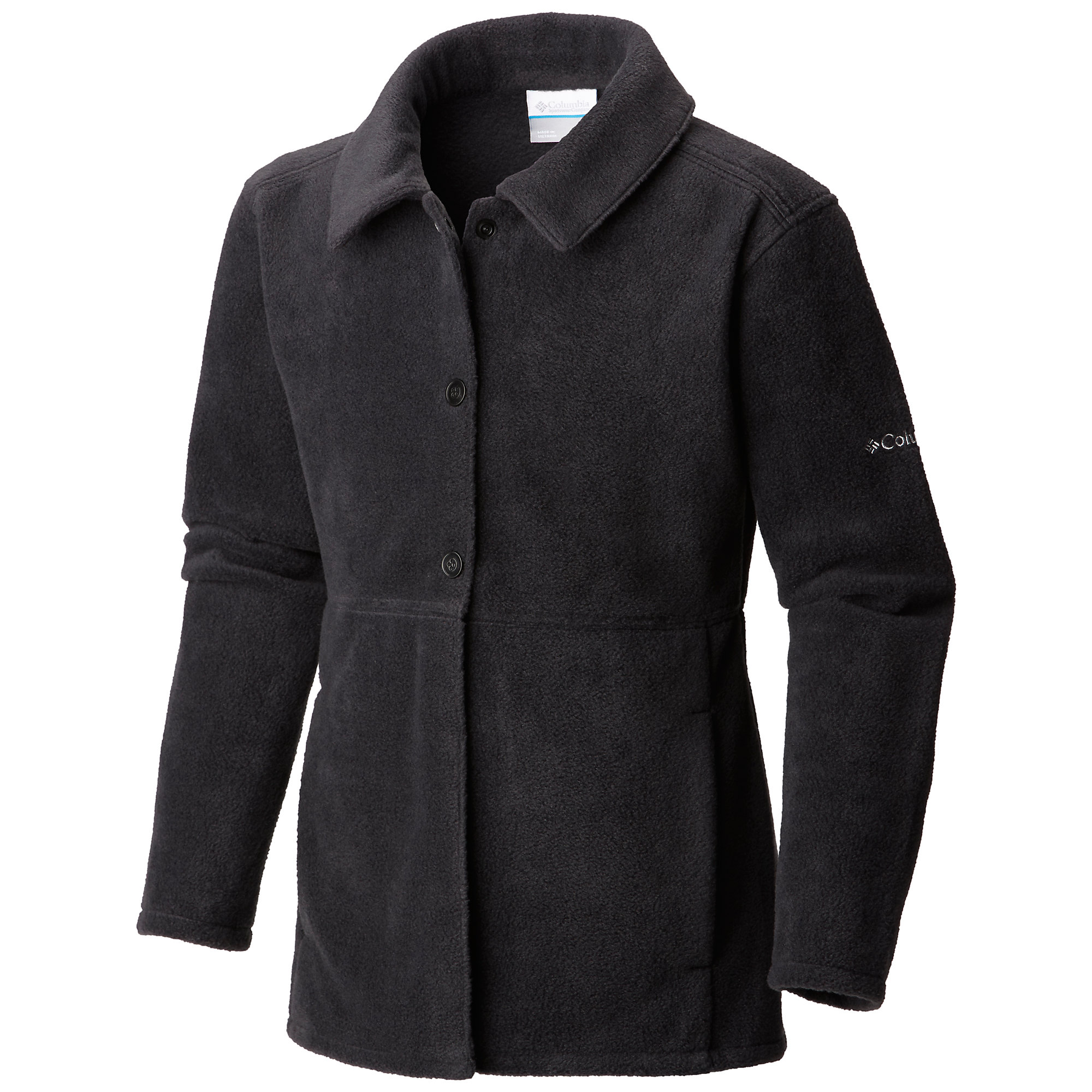 photo: Columbia Benton Springs Button Up Coat fleece jacket