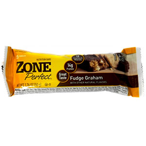 photo:   ZonePerfect Fudge Graham Bar nutrition bar