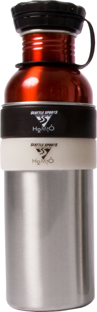 Seattle Sports H2Duo Two-Part Stainless Bottle