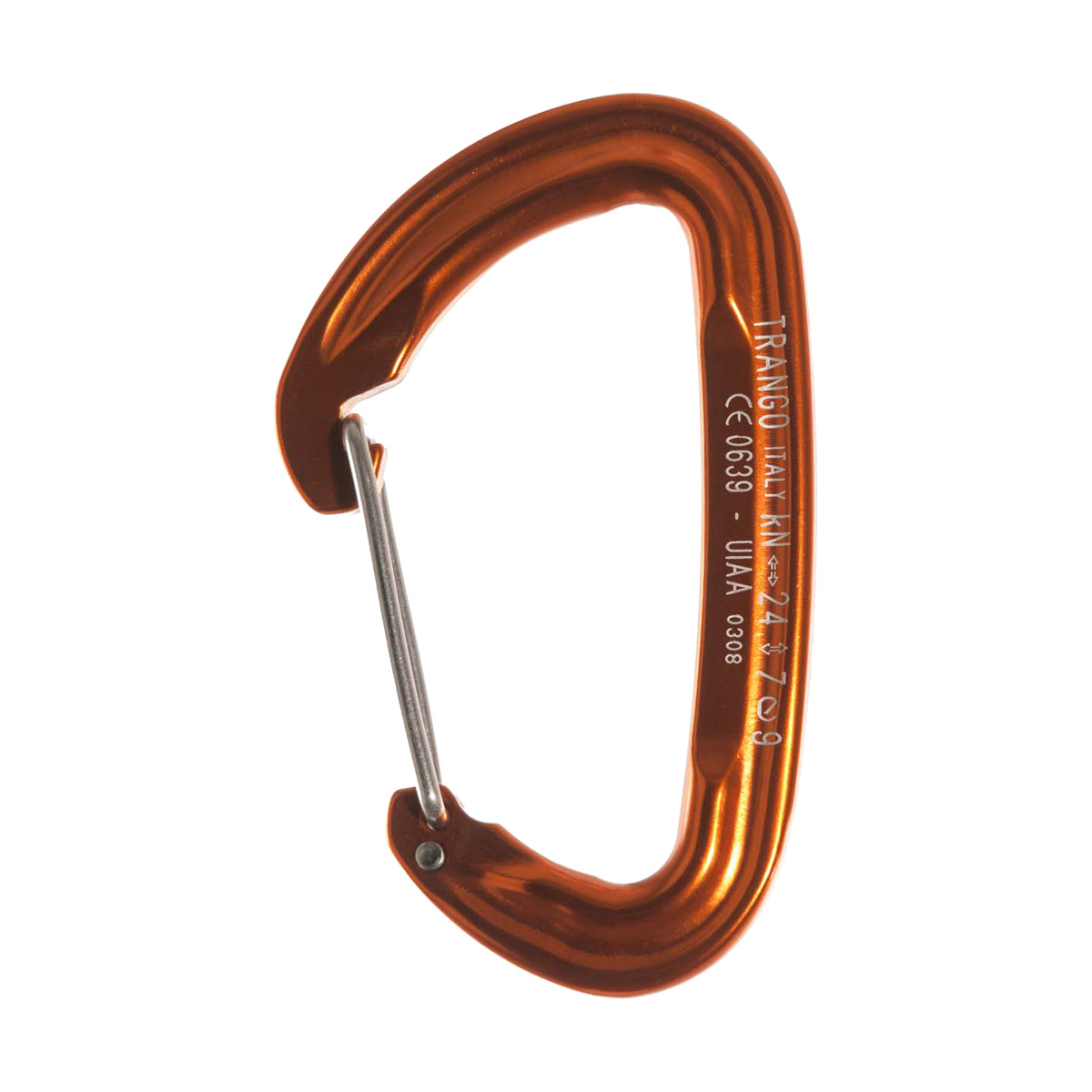 photo: Trango SuperFly Wire Gate non-locking carabiner