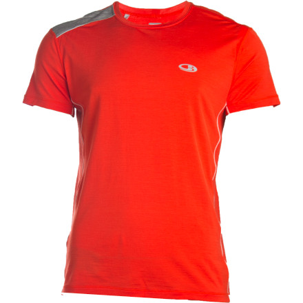 photo: Icebreaker SS Ace Crewe short sleeve performance top