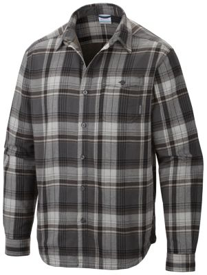 Columbia Flare Gun Flannel Lined Long Sleeve Shirt