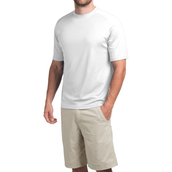 photo: Terramar Helix Crew Tee short sleeve performance top