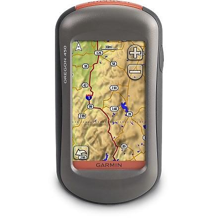 photo: Garmin Oregon 450 handheld gps receiver