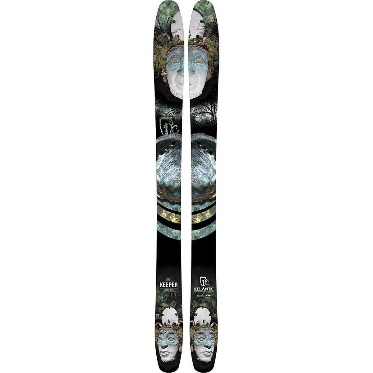 photo: Icelantic The Keeper alpine touring/telemark ski