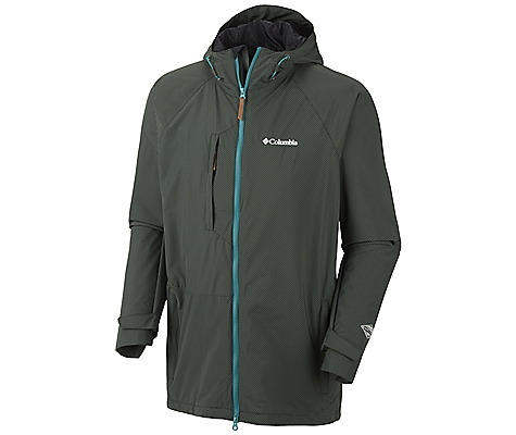 photo: Columbia Tree Grinder Shell Jacket waterproof jacket