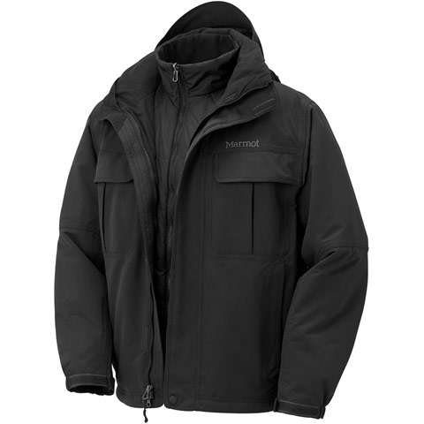 photo: Marmot Spellbound Component Jacket component (3-in-1) jacket
