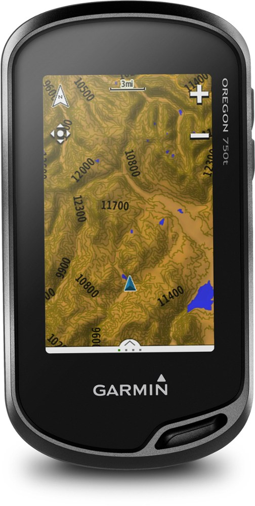 photo: Garmin Oregon 750t handheld gps receiver