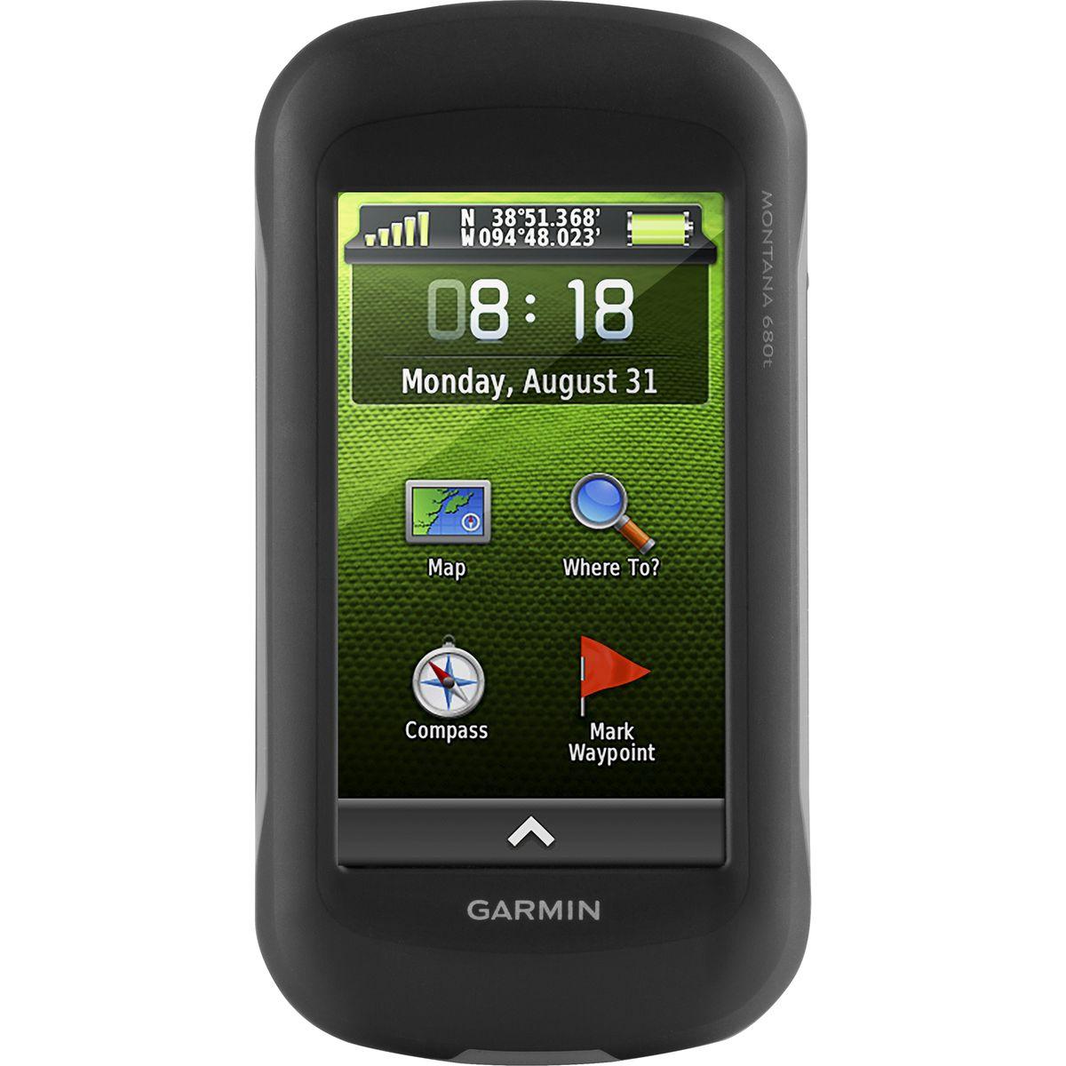 photo: Garmin Montana 680t handheld gps receiver