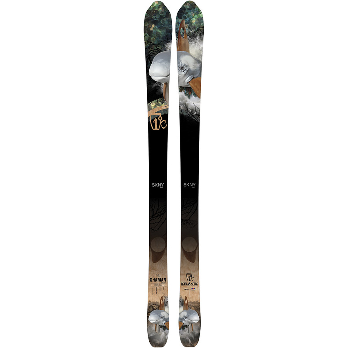 photo: Icelantic Shaman alpine touring/telemark ski