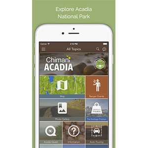 Chimani Acadia National Park App