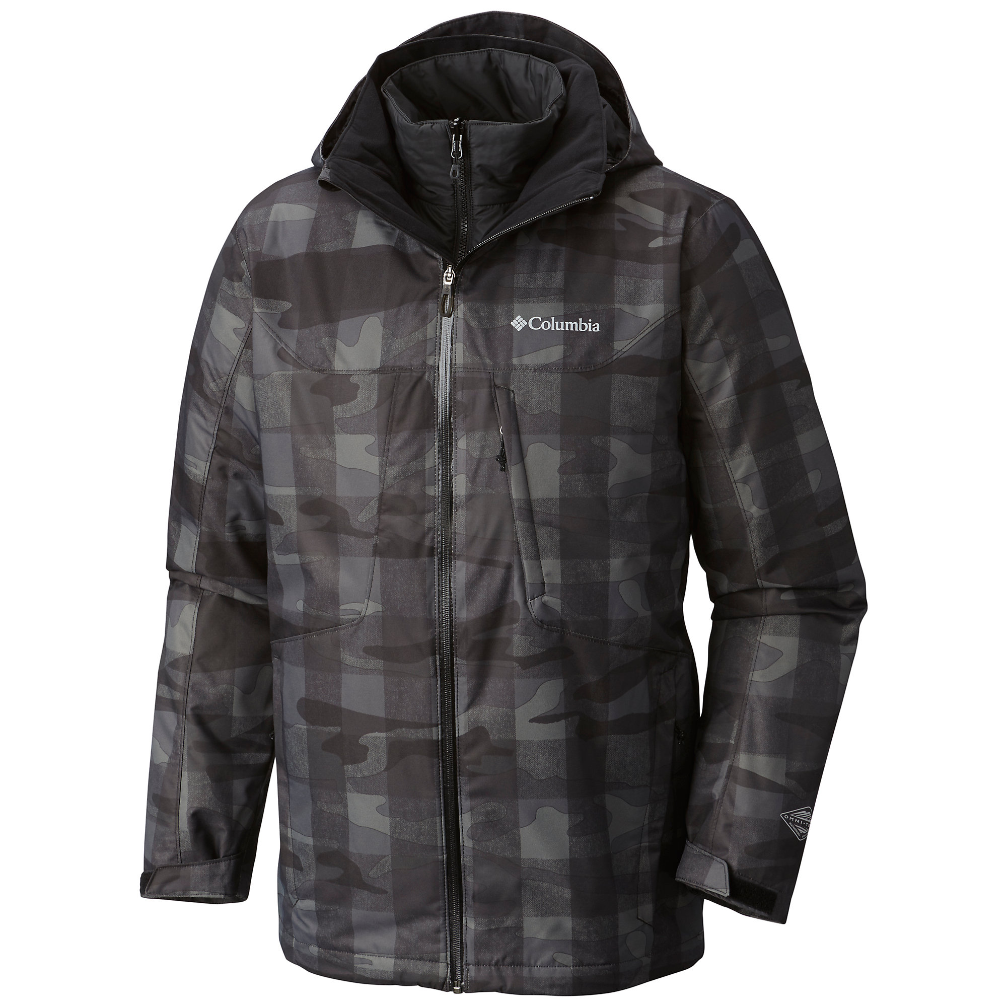 photo: Columbia Men's Whirlibird Interchange Jacket component (3-in-1) jacket