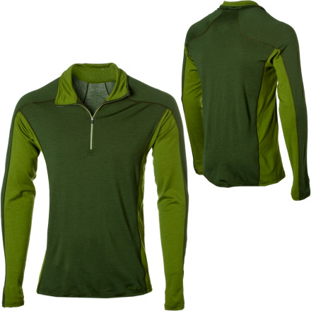 photo: Patagonia Merino 3 Classic Zip-Neck base layer top