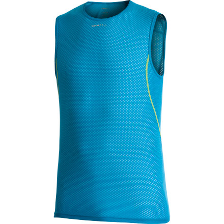 photo: Craft PC Mesh Superlight Sleeveless Crew base layer top