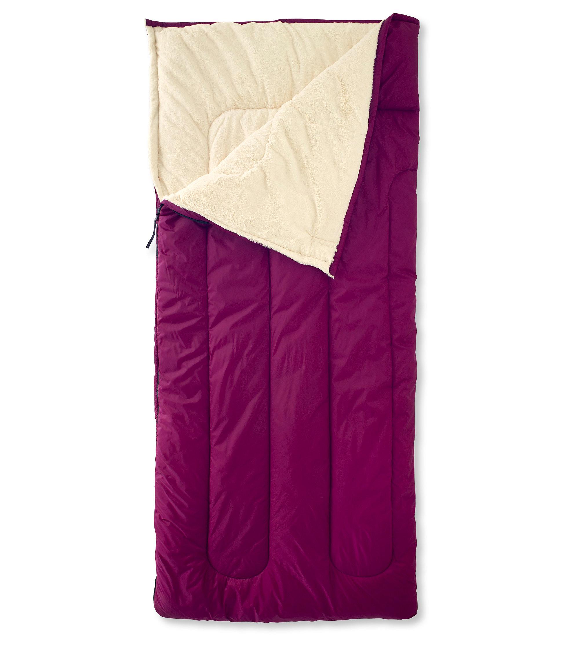 L.L.Bean Ultraplush Camp Sleeping Bag, 40°