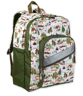 L.L.Bean Deluxe Kids Backpack